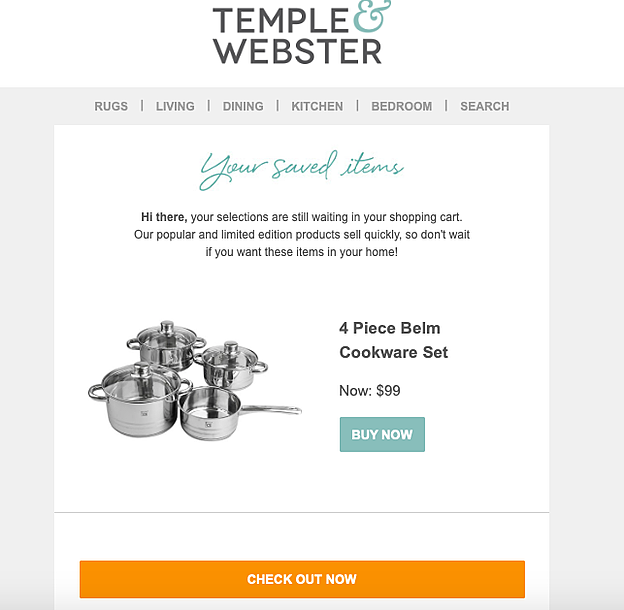 customer cart recover ecommerce