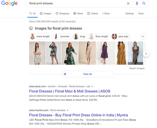seo competitor research example